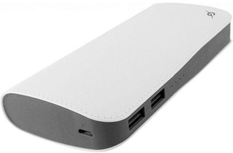 Портативный аккумулятор 13000mAh Global DL515M (1283126477607) White