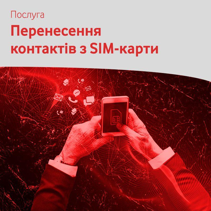 Перенос контактов с SIM-карты