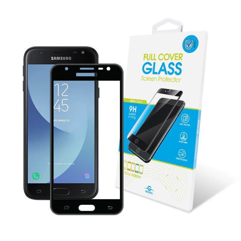 Защитное стекло Global Full Cover для Samsung Galaxy J3 2017 (Black)