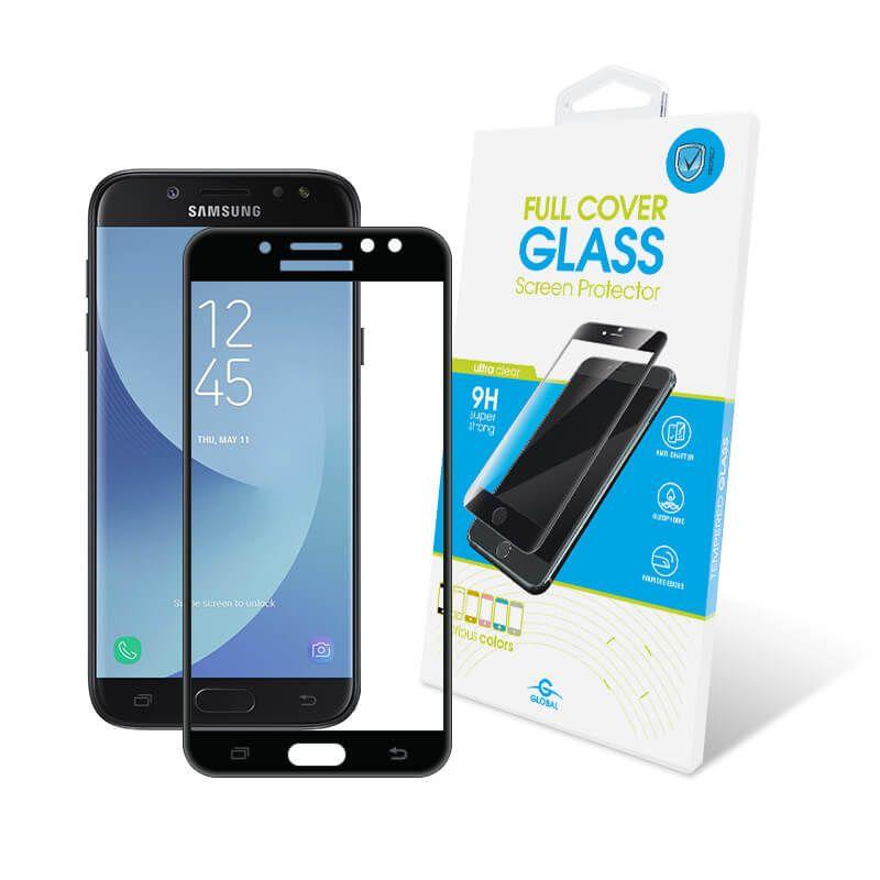 Защитное стекло Global Full Cover для Samsung Galaxy J7 2017 (Black)