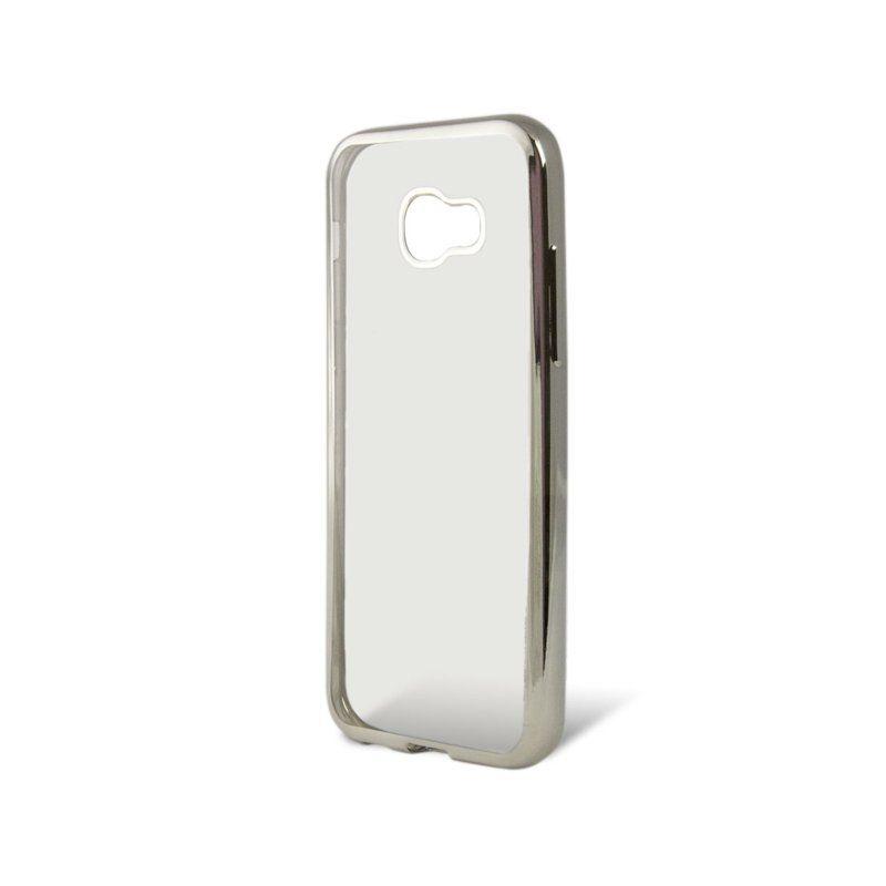 Чохол GlobalCase TPU Electro для Samsung Galaxy A7 2017 (Silver)