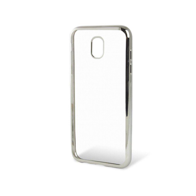 Чехол GlobalCase TPU Electro для Samsung Galaxy J7 2017 (Silver)