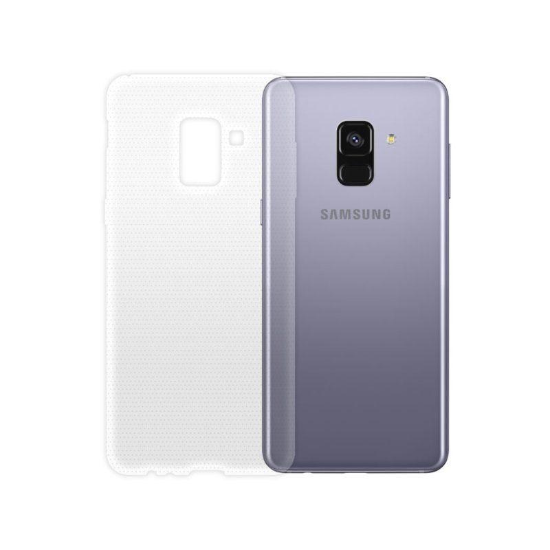 Чехол GlobalCase TPU Extra Slim для Samsung Galaxy A8 Plus 2018 (Clear)