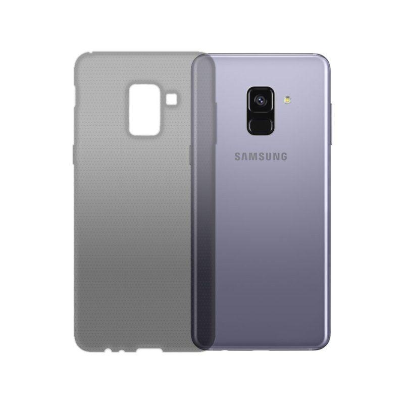Чехол GlobalCase TPU Extra Slim для Samsung Galaxy A8 Plus 2018 (Dark)