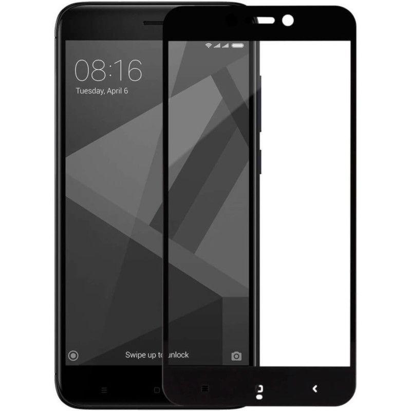 Защитное стекло MakeFuture Full Cover для Xiaomi Redmi 4X (Black)
