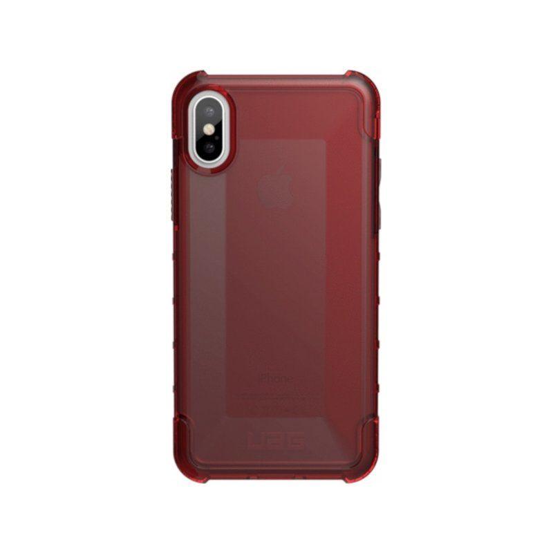 Чехол Urban Armor Gear для Apple iPhone X (Plyo Crimson)