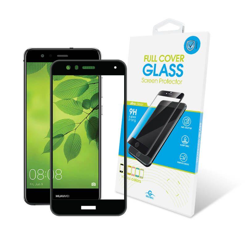 Защитное стекло Global Full Cover для Huawei P10 Lite (Black)