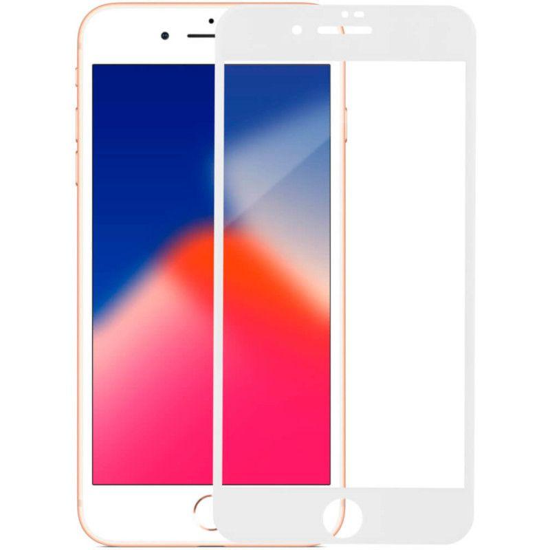 Захисне скло MakeFuture 3D для Apple iPhone 8 Plus (White)