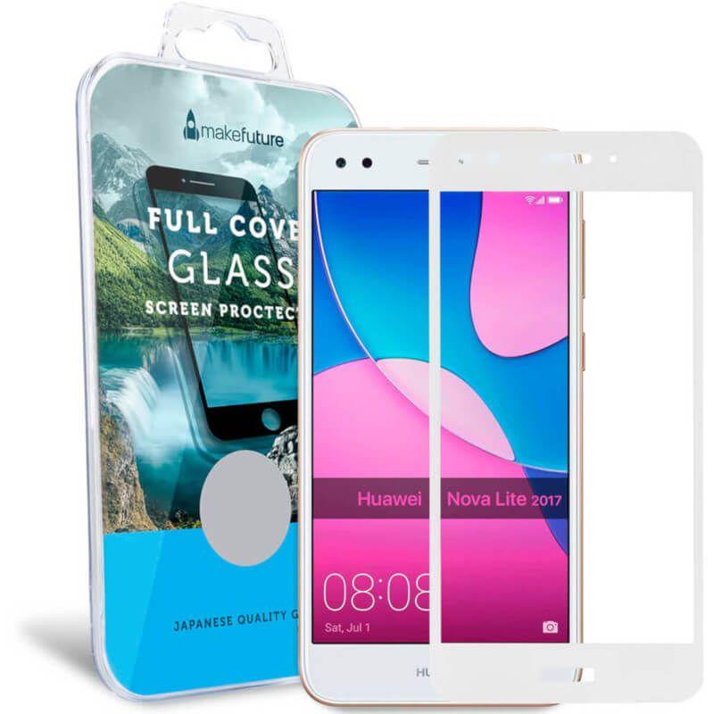 Защитное стекло MakeFuture Full Cover для Huawei Nova Lite 2017 (White) купить