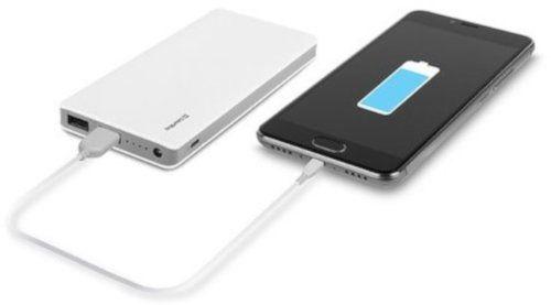 Портативный аккумулятор 10000mAh ColorWay (CW-PB100LPC2W) White купить