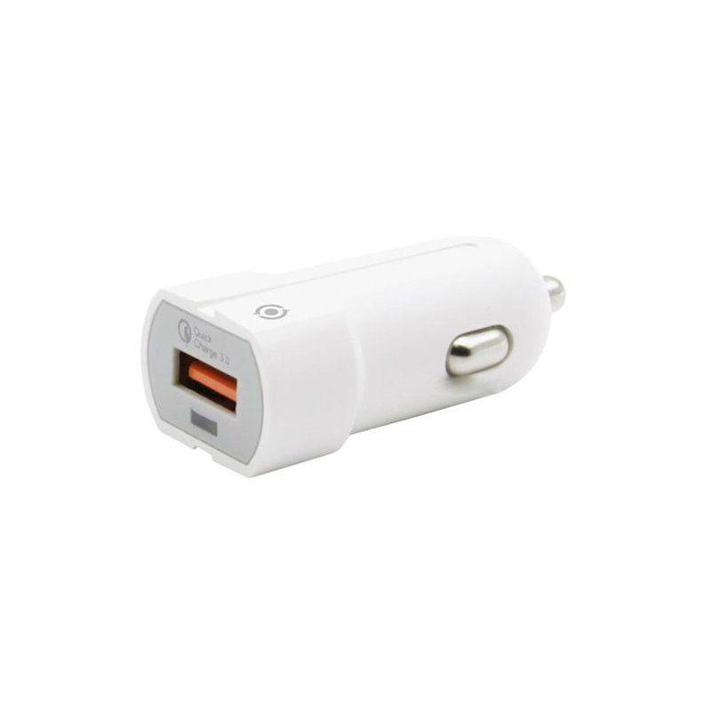 Автомобильное зарядное устройство Piko CC-301Q 1USB 3,0A (1283126481154) White