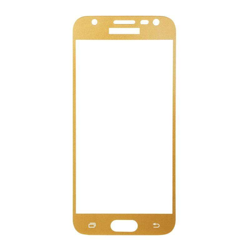Защитное стекло BeCover для Samsung Galaxy J3 2017 (Gold)
