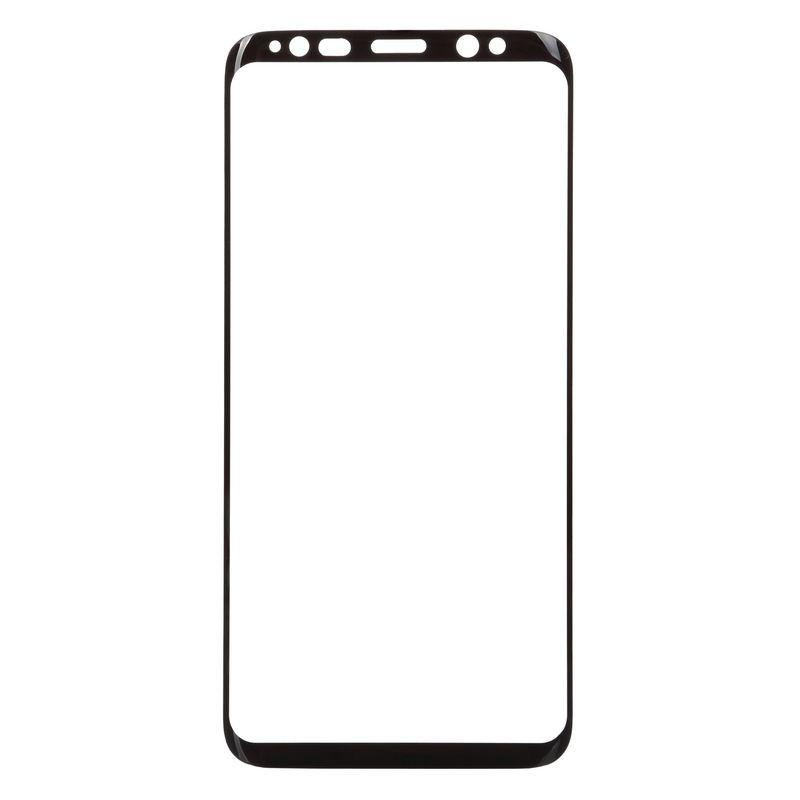 Защитное стекло BeCover для Samsung Galaxy S8 (Black)