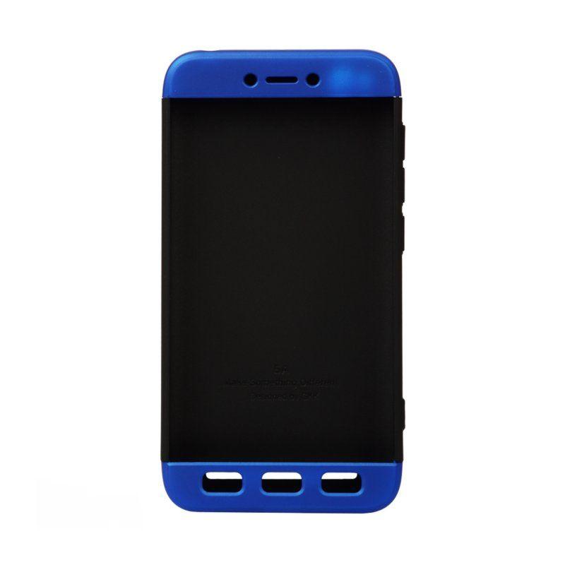 Чехол BeCover 3 в 1 Series для Xiaomi Redmi 5A (Black-Blue) купить