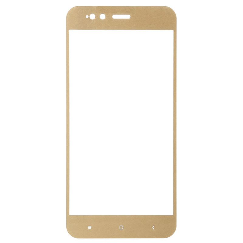 Защитное стекло BeCover для Xiaomi Mi A1 (Gold)