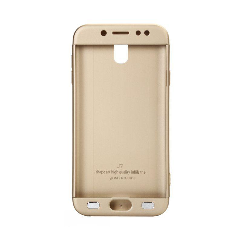 Чехол BeCover 3 в 1 Series для Samsung Galaxy J7 2017 (Gold) купить