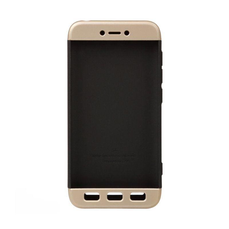 Чехол BeCover 3 в 1 Series для Xiaomi Redmi 5A (Black-Gold) купить