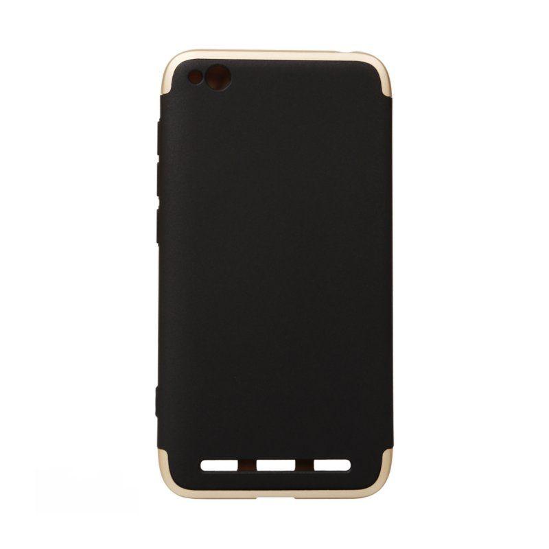 Чехол BeCover 3 в 1 Series для Xiaomi Redmi 5A (Black-Gold)