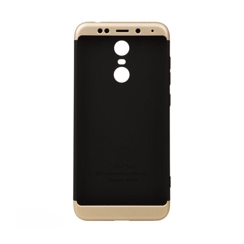 Чехол BeCover 3 в 1 Series для Xiaomi Redmi 5 Plus (Black-Gold) купить