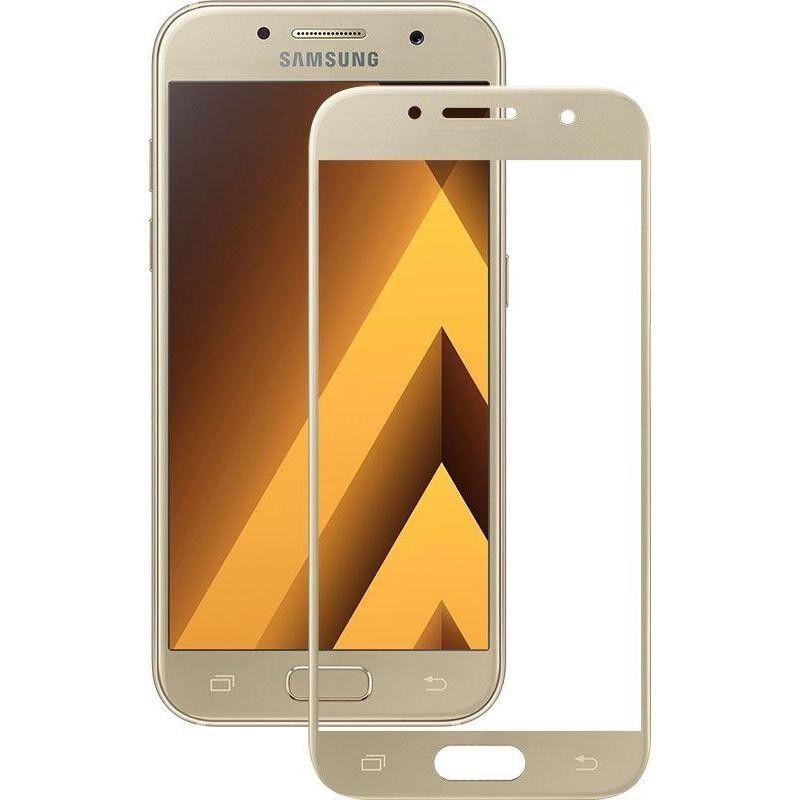 Захисне скло Mocolo 3D Full Cover для Samsung Galaxy A5 2017 (Gold)