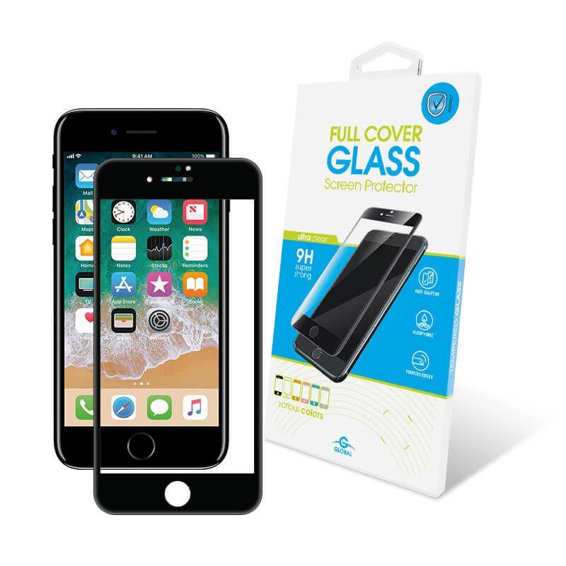Защитное стекло Global Full Cover для Apple iPhone 7/8 Plus (Black)
