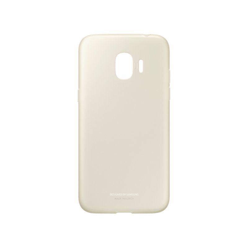 Чехол Samsung Jelly Cover для Galaxy J2 2018 (EF-AJ250TFEGRU) Gold