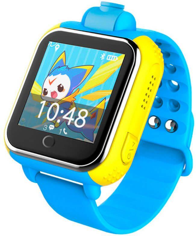 Смарт-часы UWatch Q200 Kid smart watch Blue купить
