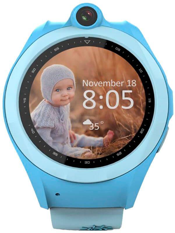Смарт-часы UWatch Q610 Kid wifi gps Blue