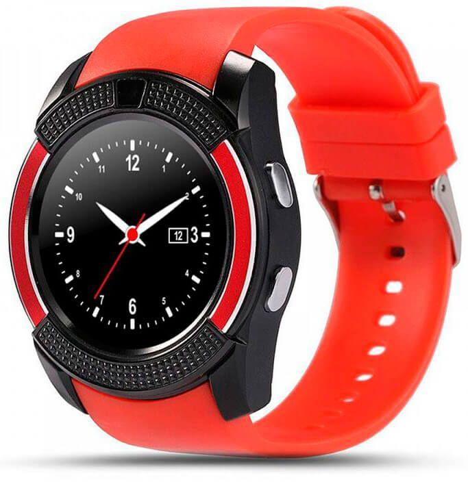 Смарт-часы UWatch V8 Red
