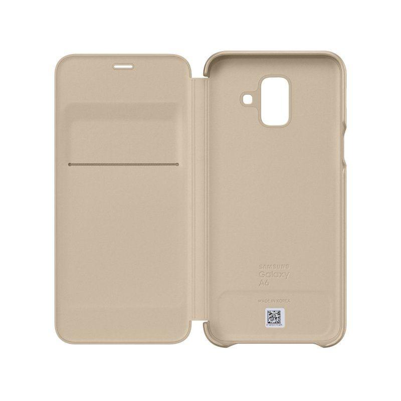 Чохол Samsung Flip Wallet для Galaxy A6 2018 (Gold) купить