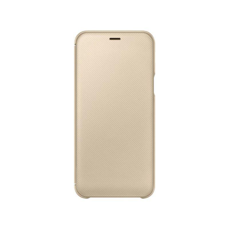 Чохол Samsung Flip Wallet для Galaxy A6 2018 (Gold) недорого