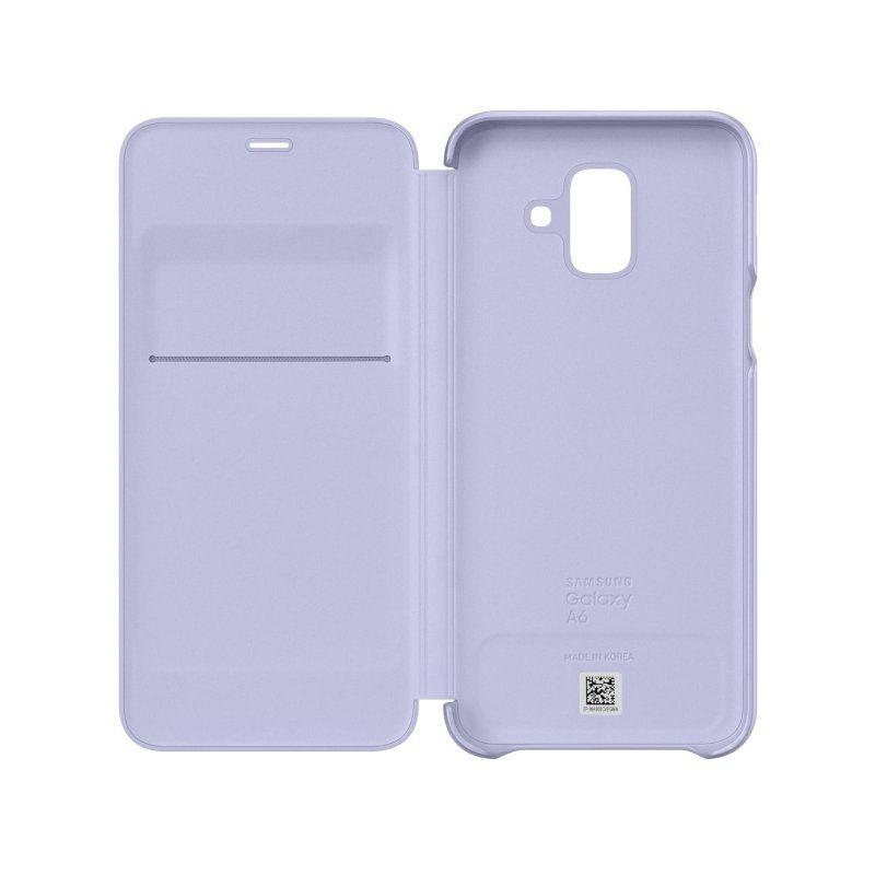 Чехол Samsung Flip Wallet для Galaxy A6 2018 Violet недорого