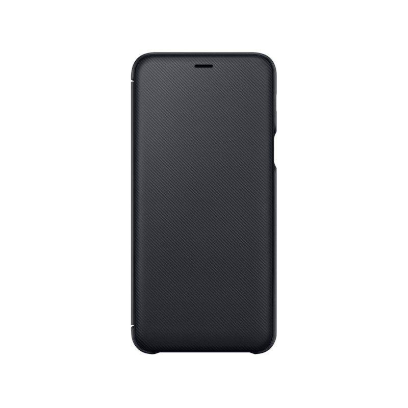 Чехол Samsung Flip Wallet для Galaxy A6 Plus 2018 (Black)