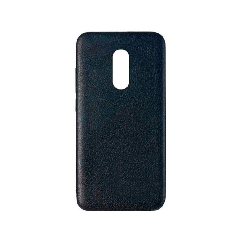Чехол Back Cover Leather для Xiaomi Redmi 5 Plus (Black)