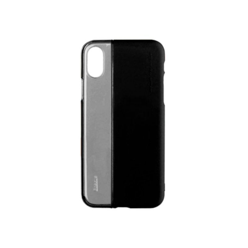 Чехол Baseus Half to Half Series для Apple iPhone X (Black)