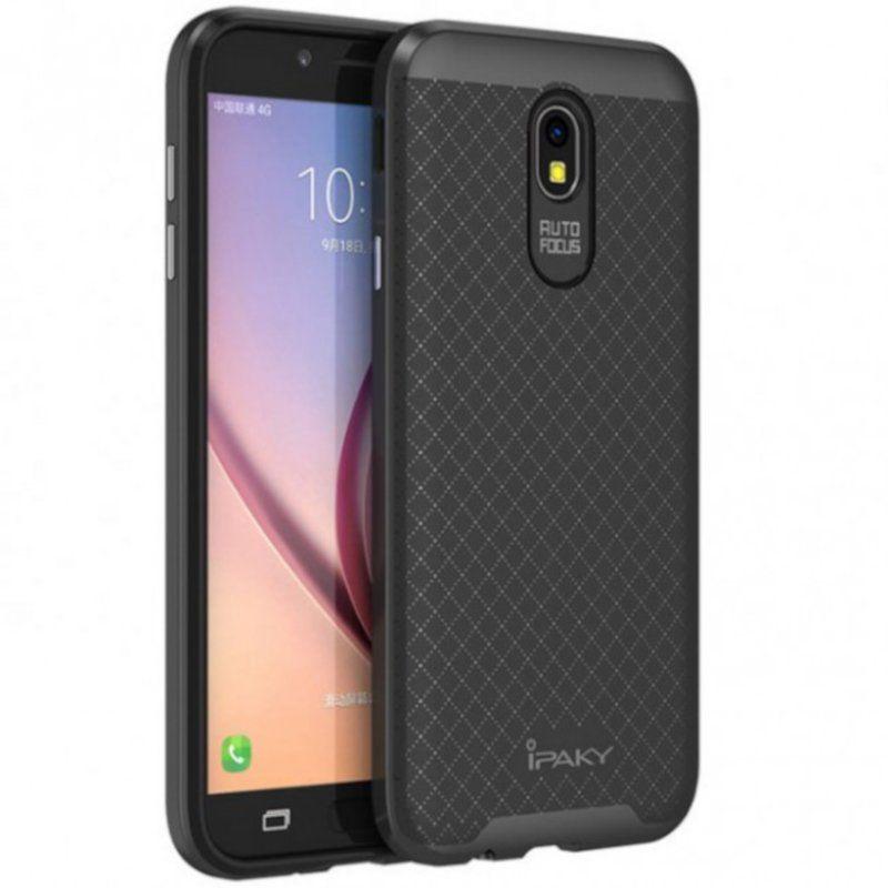 Чехол iPaky Carbon TPU для Samsung Galaxy J5 2017 (J530) Gray