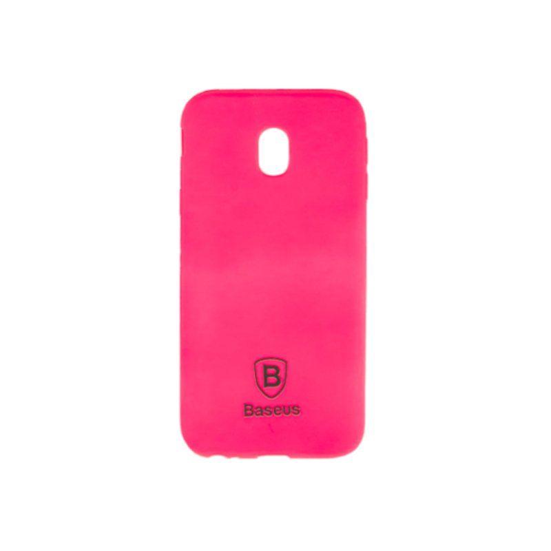 Чехол Baseus Soft Colorit для Samsung Galaxy J3 2017 (Pink)