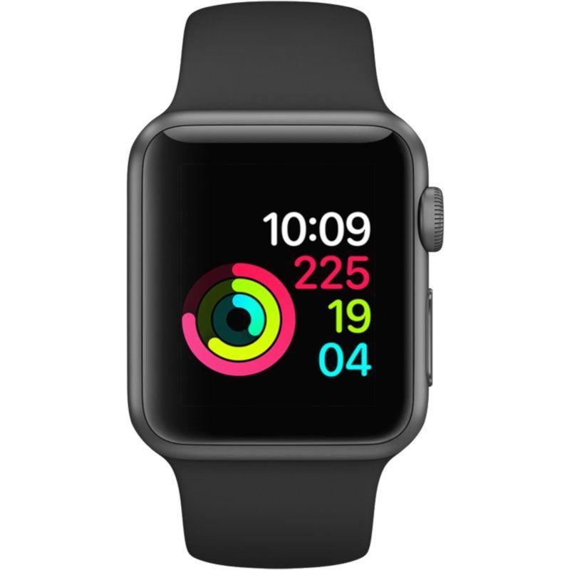 Смарт-часы Apple Watch Series 3 42mm GPS (MQL12) Space Grey Aluminium Case with Black Sport Band
