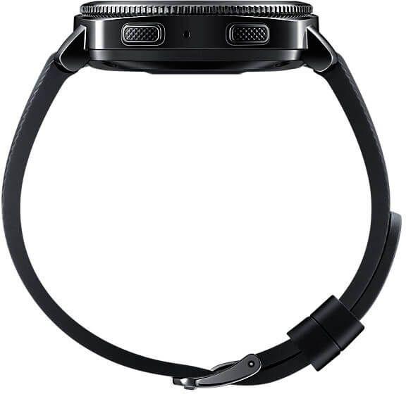 Смарт-часы Samsung SM-R600 Gear Sport (SM-R600NZKA) Black в интернет-магазине