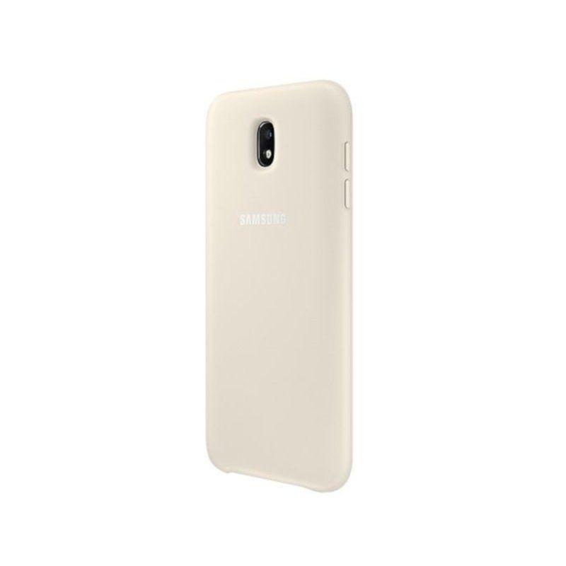 Чехол Samsung Dual Layer для Galaxy J3 2017 (EF-PJ330CFEGRU) Gold недорого