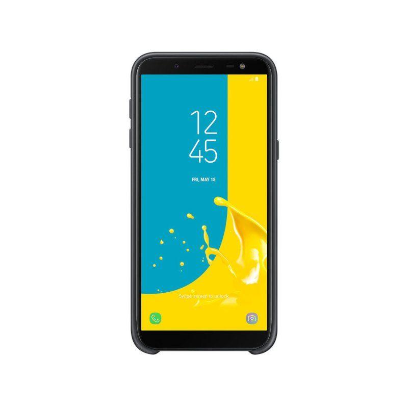 Чехол Samsung Dual Layer Cover для Galaxy J6 2018 (Black) купить