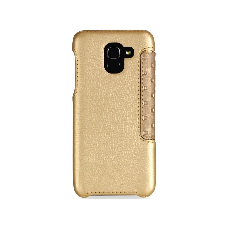 Чехол RedPoint Fit Book для Samsung Galaxy J6 2018 (Gold) купить