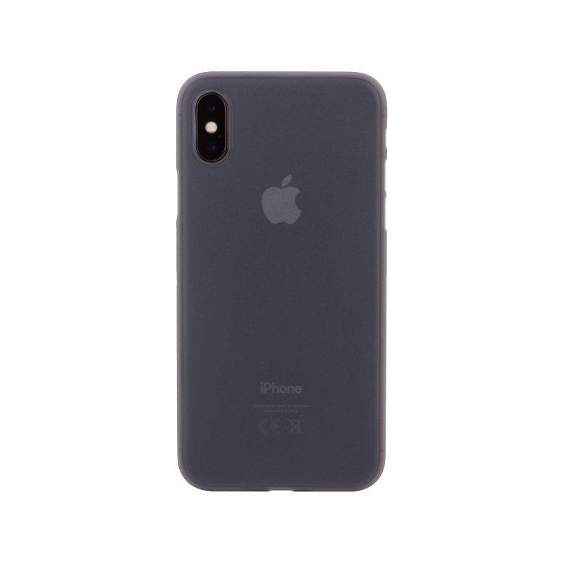 Чехол MakeFuture Ice для Apple iPhone X (Grey)