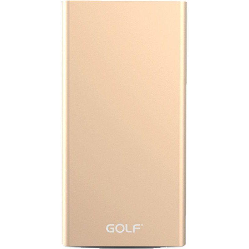Портативный аккумулятор 15000mAh Golf Edge 15 Gold