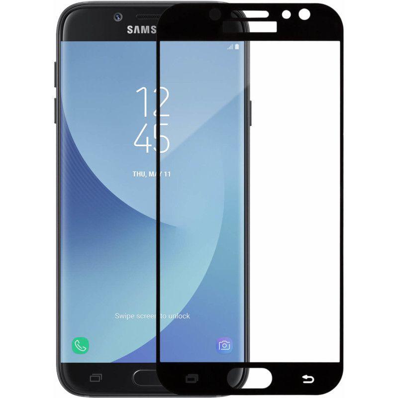 Защитное стекло MakeFuture Full Glue для Samsung Galaxy J7 2017 (Black)