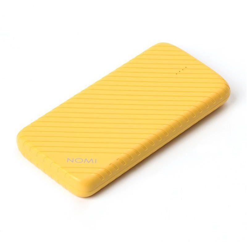 Портативный аккумулятор 10000mAh Nomi F100 (324700) Yellow