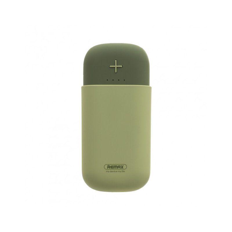 Портативний акумулятор 5000mAh Remax Camaroon Series RPL-32 Green