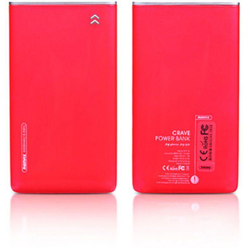 Портативный аккумулятор 5000mAh Remax Crave RPP-78 Red