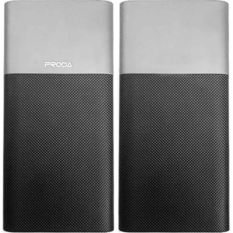 Портативный аккумулятор 10000mAh Remax Proda Biaphone series PPP-28 Grey