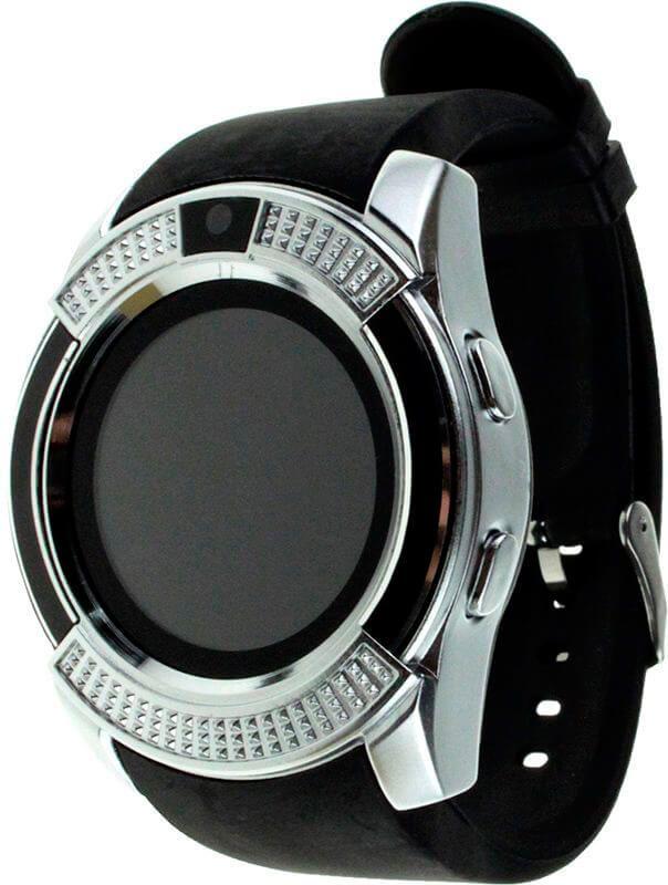 Смарт-часы UWatch V8 Black/Silver купить